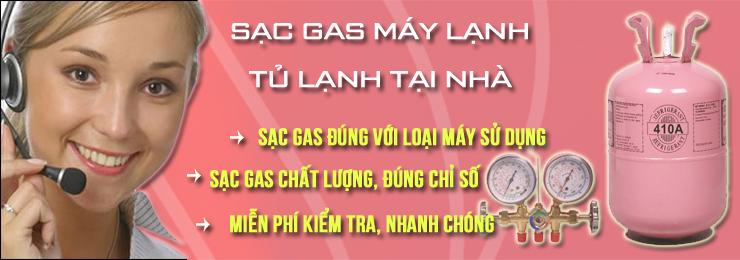 nap gas may lanh tai nha