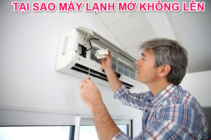 Lỗi máy lạnh mở không lên