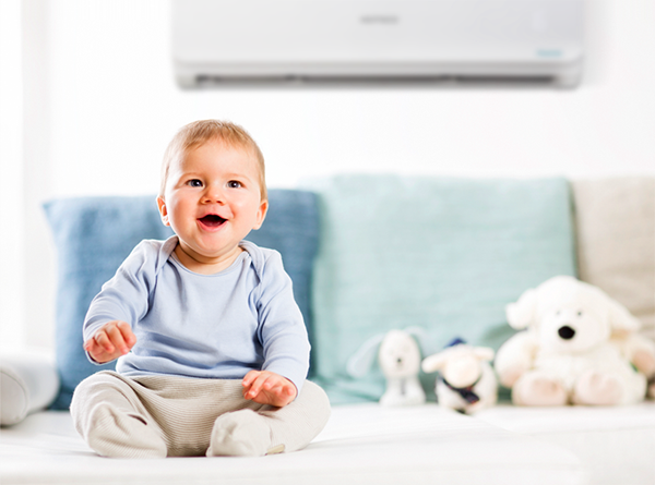 máy lạnh cho trẻ nhỏ sơ sinh