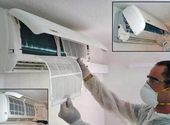 vệ sinh máy lạnh tại nhà