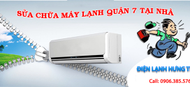 Sửa chữa máy lạnh uy tín tại quận 7