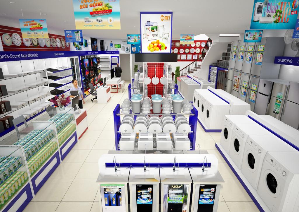 Vệ sinh máy lạnh showroom1